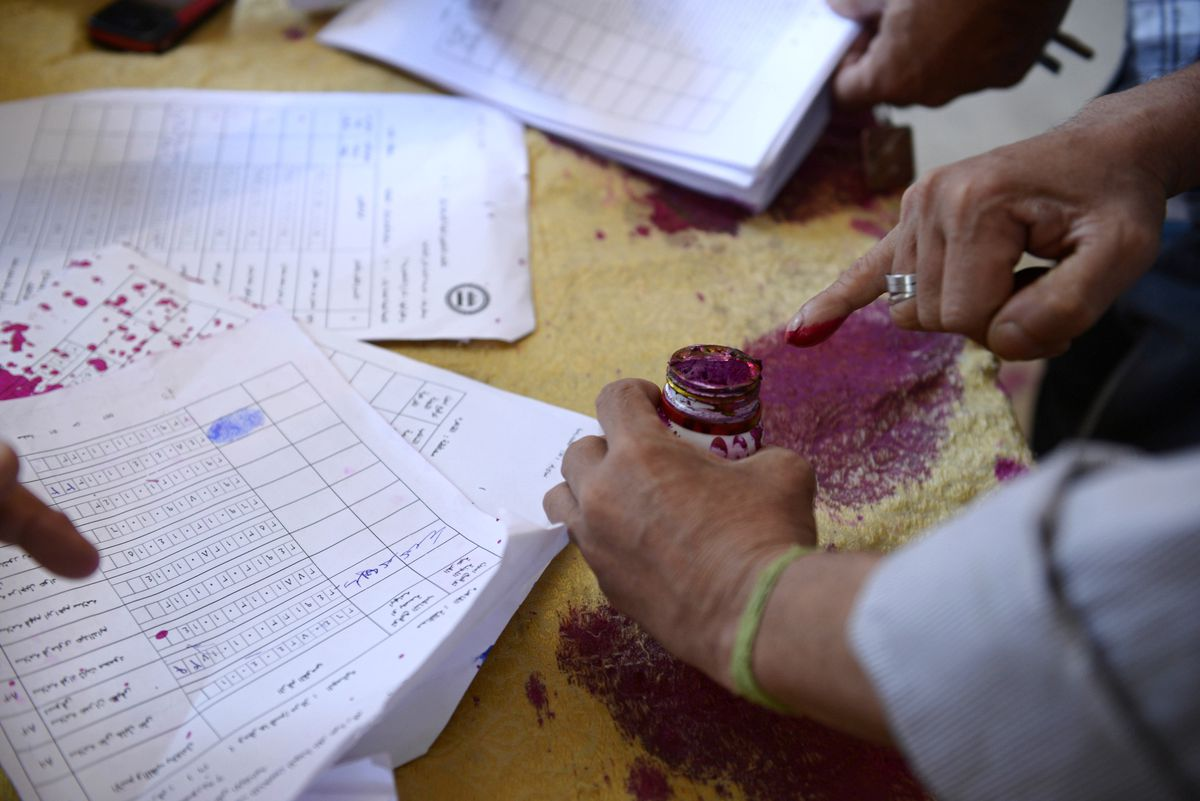 Presidential Elections Are Held In Egypt