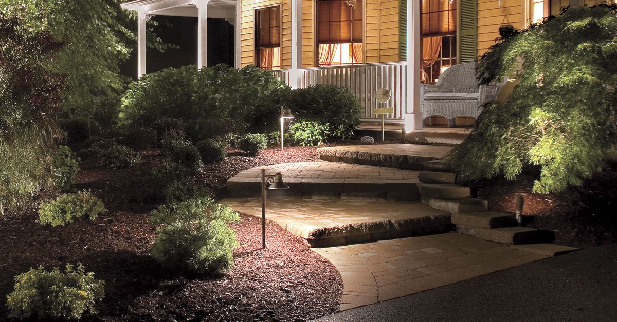 All About Path Lighting - This Old House