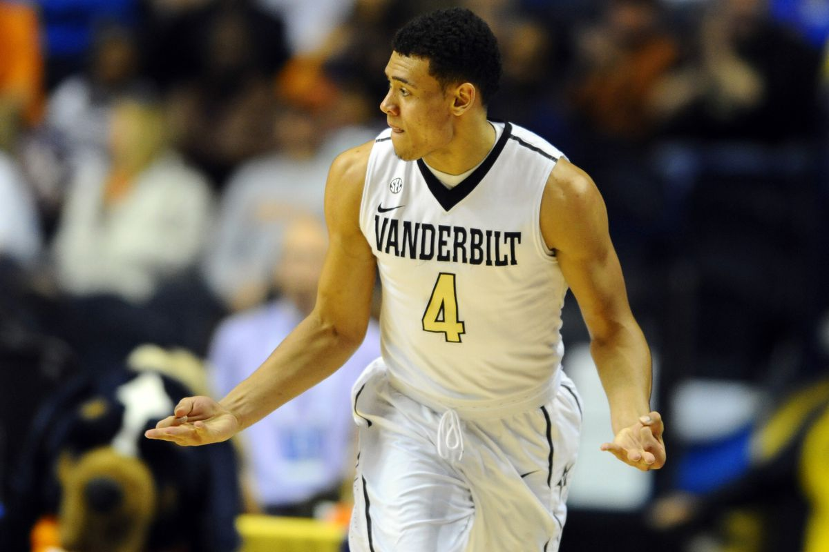 Wade Baldwin, pictured here not clapping near a Tennessee Volunteer.