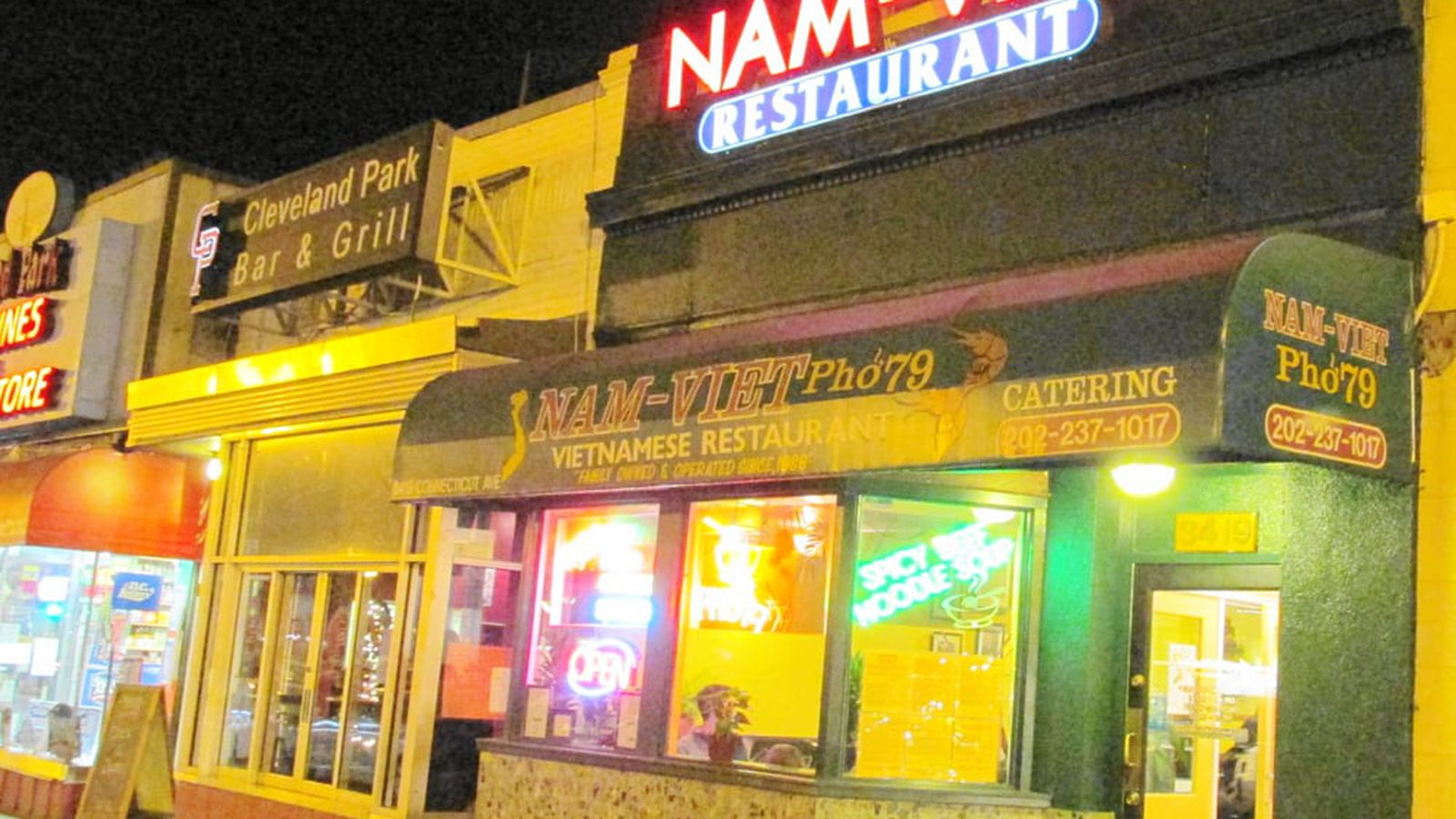 Nam-Viet Is the Latest Restaurant Abandoning Cleveland Park