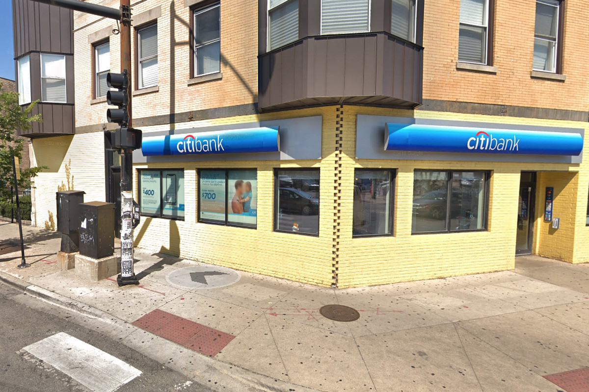 A Citibank was robbed June 15, 2019 in the 2200 block of North Milwaukee Avenue.
