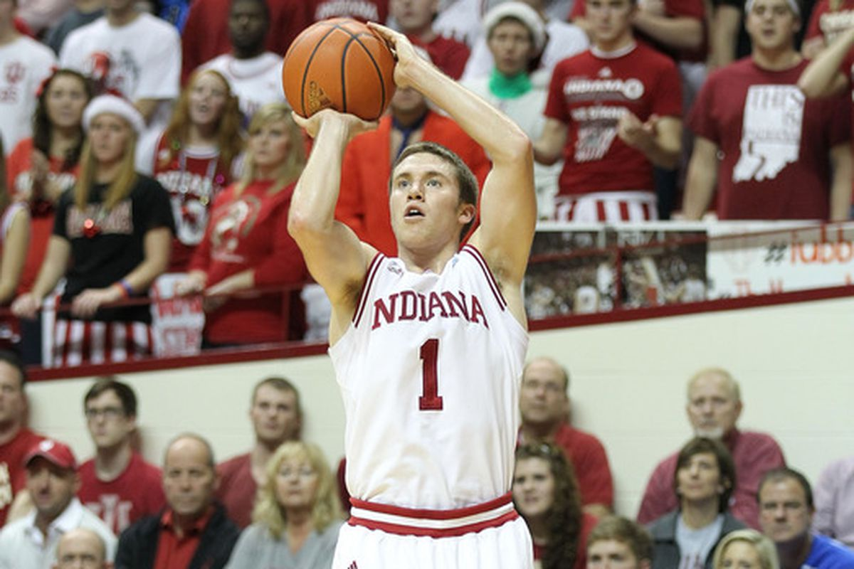 By whatever metric you use, Jordan Hulls is one of the best shooters in Indiana history.