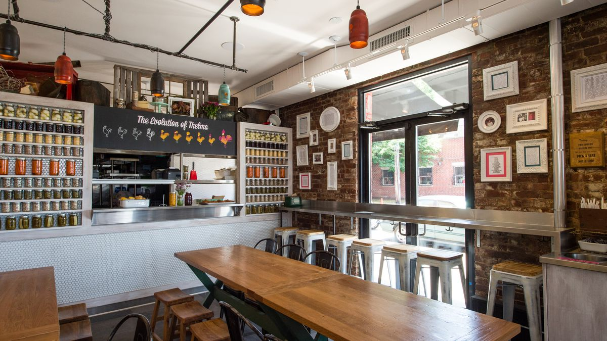 Inside Carla Hall S Southern Kitchen A Brooklyn En Shack With Country Vibe