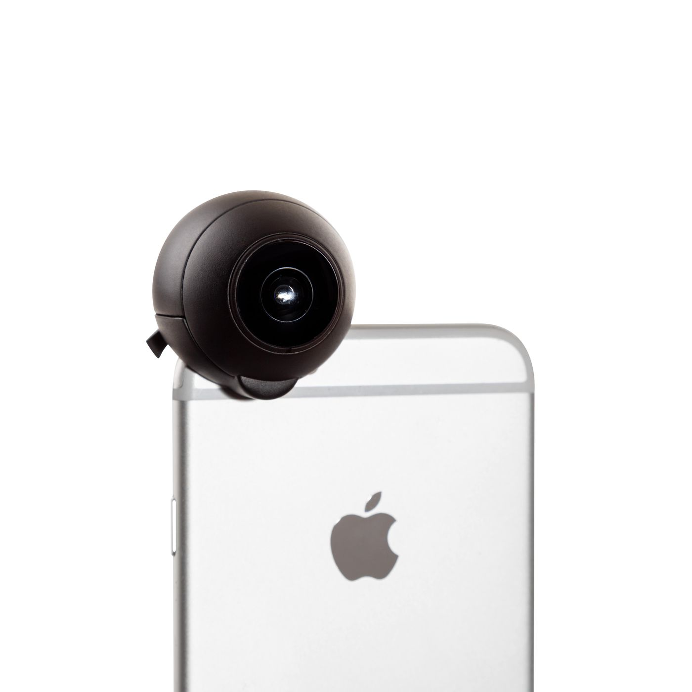 This 360 Degree Lens Attaches To Your Iphone Camera The Verge Throw Ball Take Panoramic Photos
