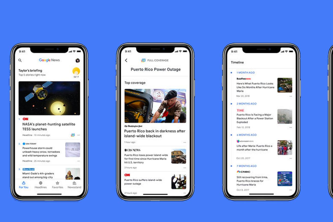 the new ai powered google news app is now available on ios