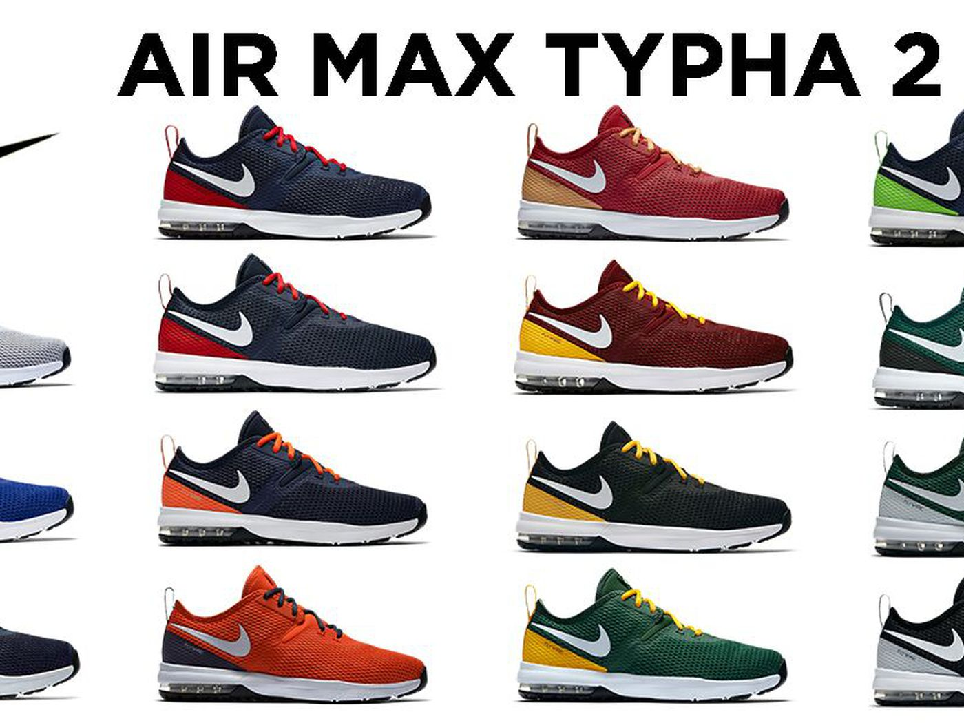 c3a8b1d07e225 Nike releases new NFL-themed Air Max Typha 2 shoe collection - SBNation.com
