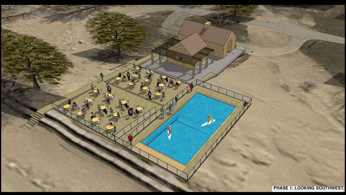 Now that his plans for simulated surfing wave pool at Montrose Beach were rejected, K.C. Hoos isn't sure if he'll keep looking for a suitable site. | Provided