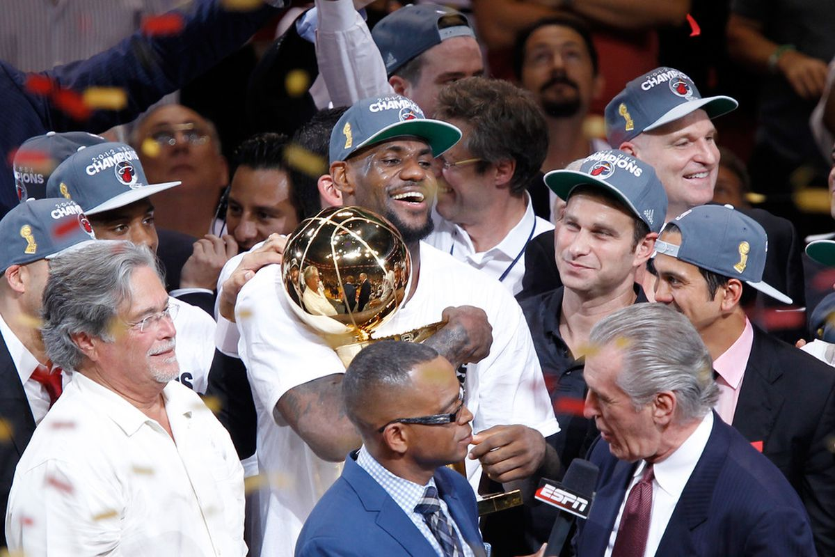 fbdcf006b7d The Chosen Won  Miami Heat Take NBA Title To South Beach - SBNation.com