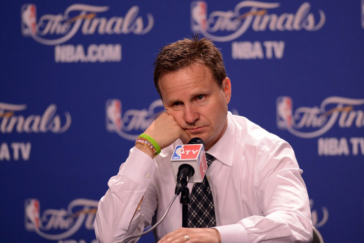 I think that look on Scott Brooks' face says it all.