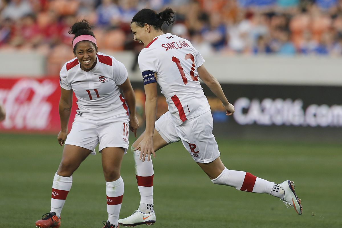 Christine Sinclair has scored in three of her last four matches for Portland Thorns FC.