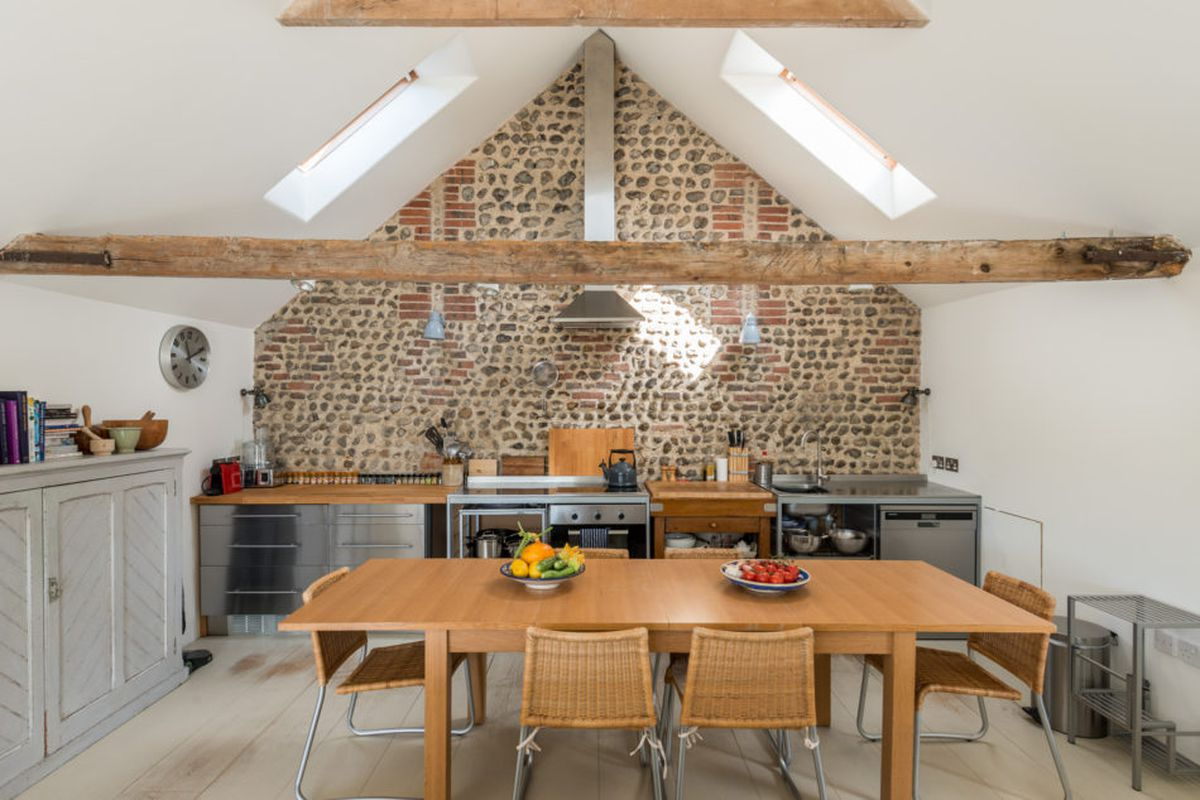 Converted English barn becomes bright modern home, wants ... on townhouse interior design, kelly hoppen interior design, amazing home house design, english cottage design,