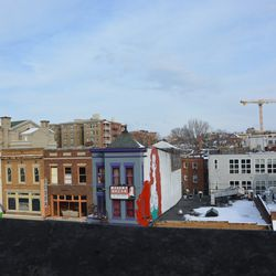 Rooftop view.