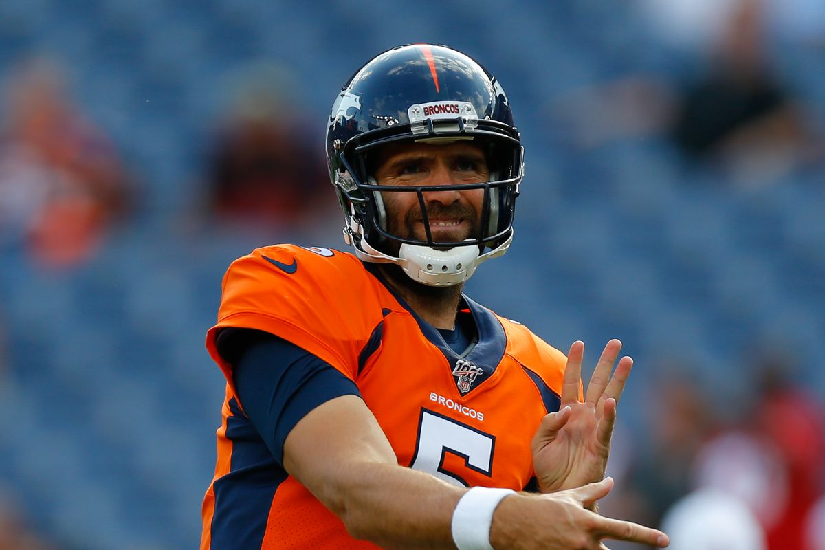 Joe Flacco ready to play games 'that matter' - Mile High Report