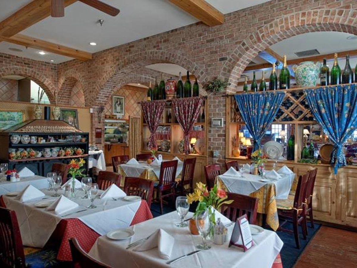Enjoy a French country brunch at Lavendou