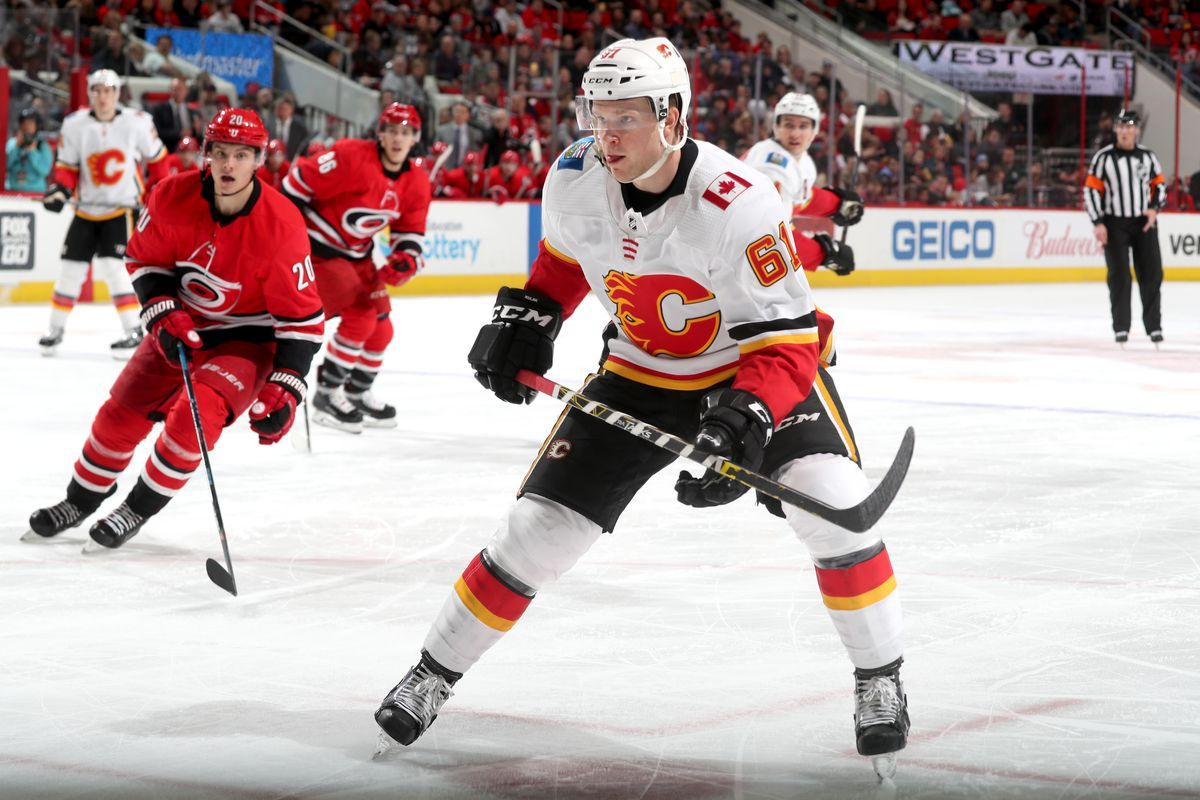 Calgary Flames v Carolina Hurricanes