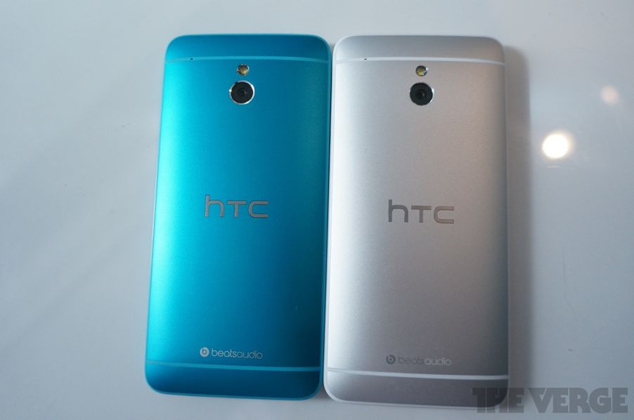Htc One Mini Colors HTC goes cyan w...
