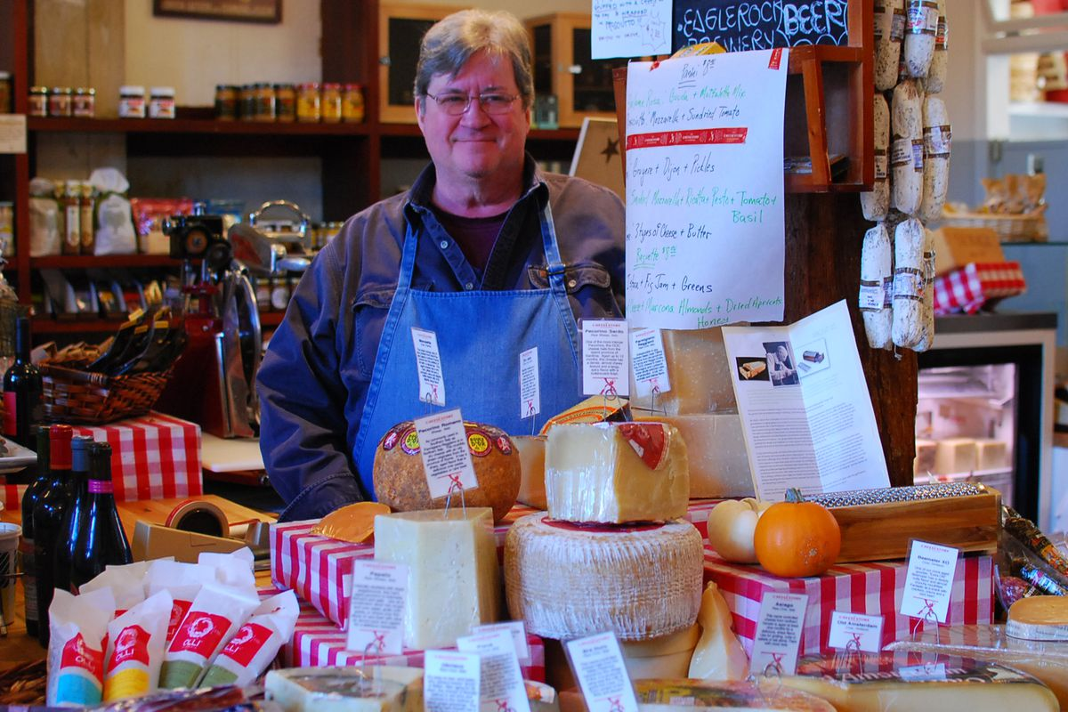 Chris Pollan of The Cheese Store of Silverlake