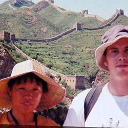 David Sneddon, right, of Providence, Utah, was last seen in China in August of 2004.