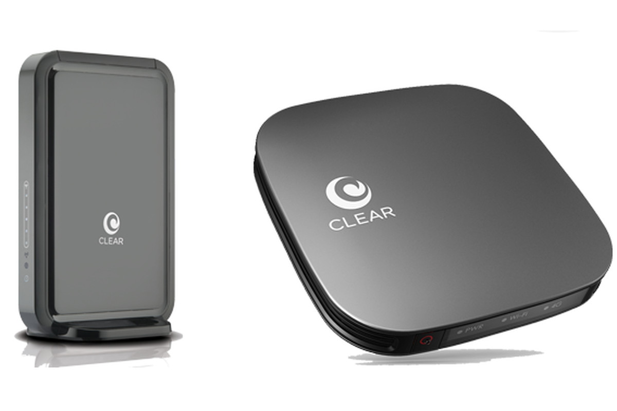 Clear WiMax hotspot and router