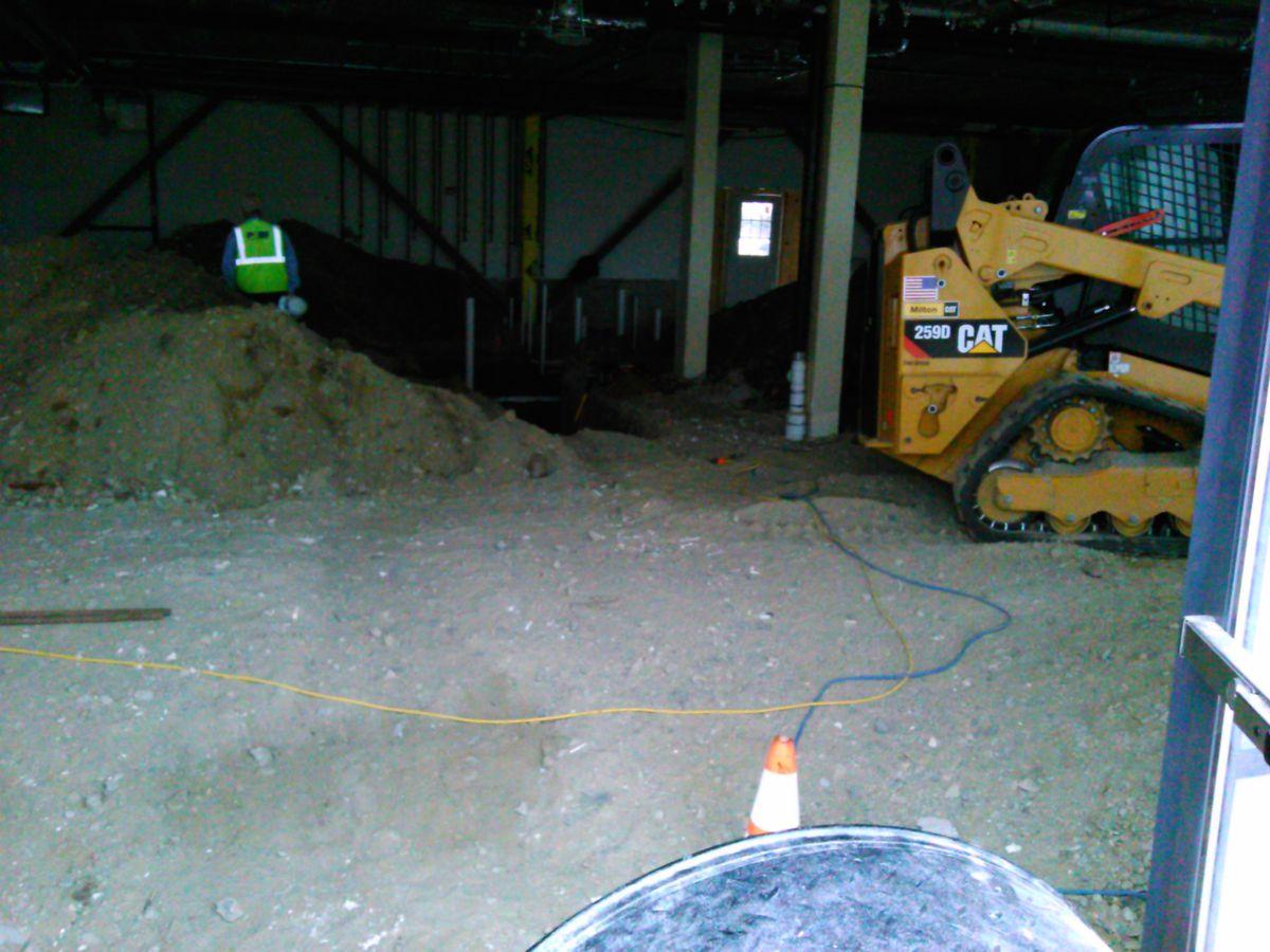 Tiqa construction early 2