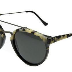 "The New Tortoise: <b>Retrosuperfuture</b> Giaguaro Puma Sunglasses, <a href=""http://thereformation.com/RETROSUPERFUTURE-GIAGUARO-PUMA-SUNGLASSES.html"">$228</a> at The Reformation"