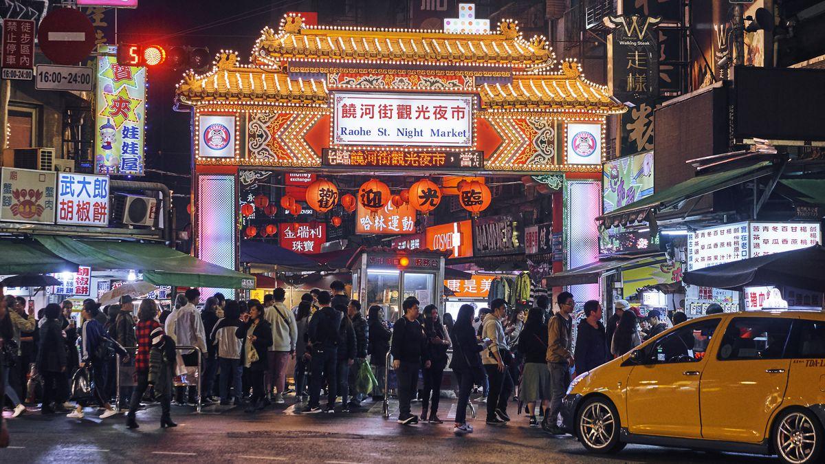 Image result for raohe night market taiwan