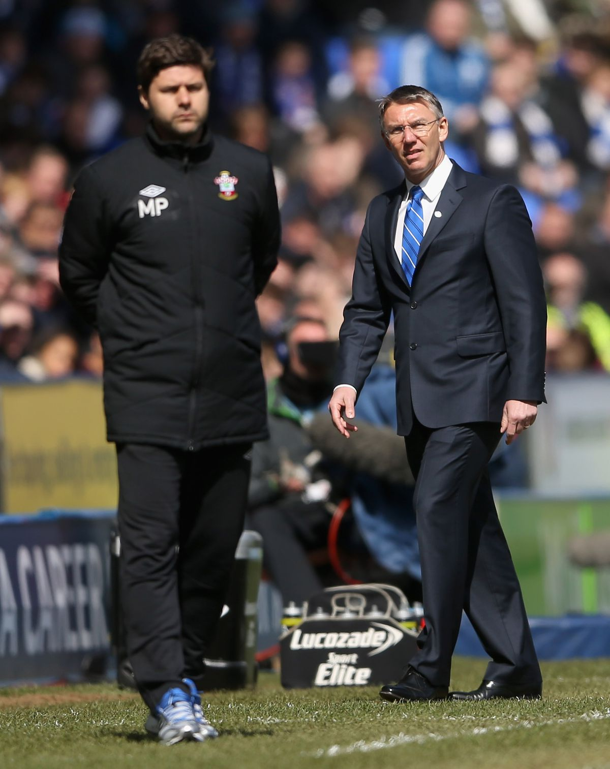 Southampton manager Mauricio Pochettino Reading coach Nigel Adkins Saints interview Richard Chaplow Premier League