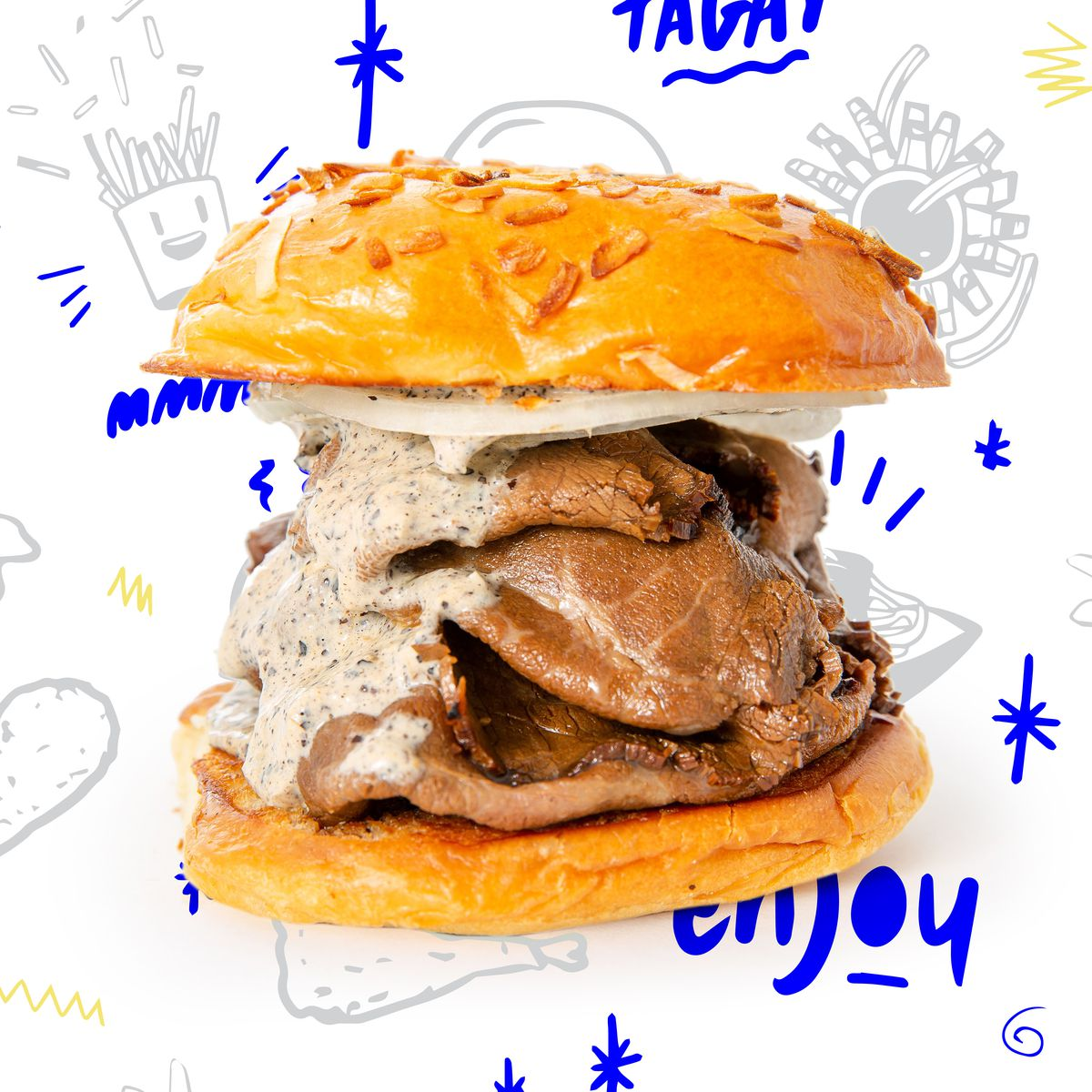 The Eugene sandwich is Pogiboy's version of Baltimore pit beef