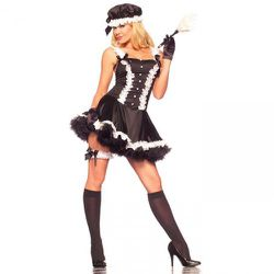 """Ricky's has sixteen different French Maid costumes, including the feminist-approved """"Maid to Order"""" and """"At Your Service."""" This one is the Fifth Avenue Maid and therefore the classiest."""