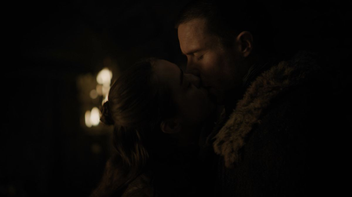 Game of Thrones S08E02 Arya and Gendry