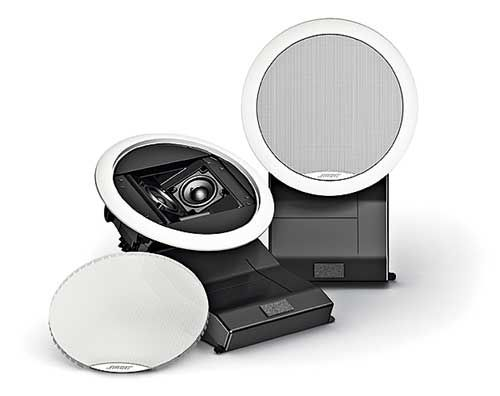 """<p><strong>The Sports Den Gear: Surround Sound Speakers</strong><br> In-wall surround speakers, mounted at ear level, make you feel like you're sitting right smack in the middle of the action.<br> <br>$298 per pair; <a target=""""_blank"""">bose.com</a></p>"""