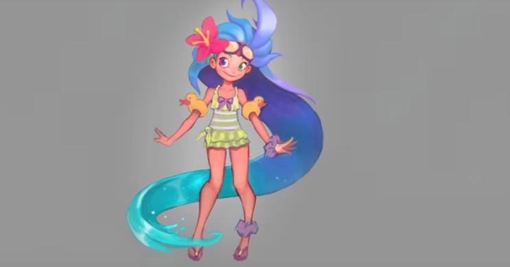 Summer-Themed Zoe Skin Teased In Video - The Rift Herald-9752