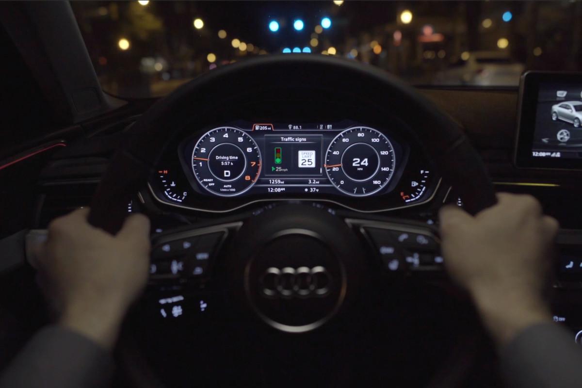 Audi's new V2I feature