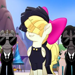 "Songbird Serenade (Sia) in ""My Little Pony: The Movie."""