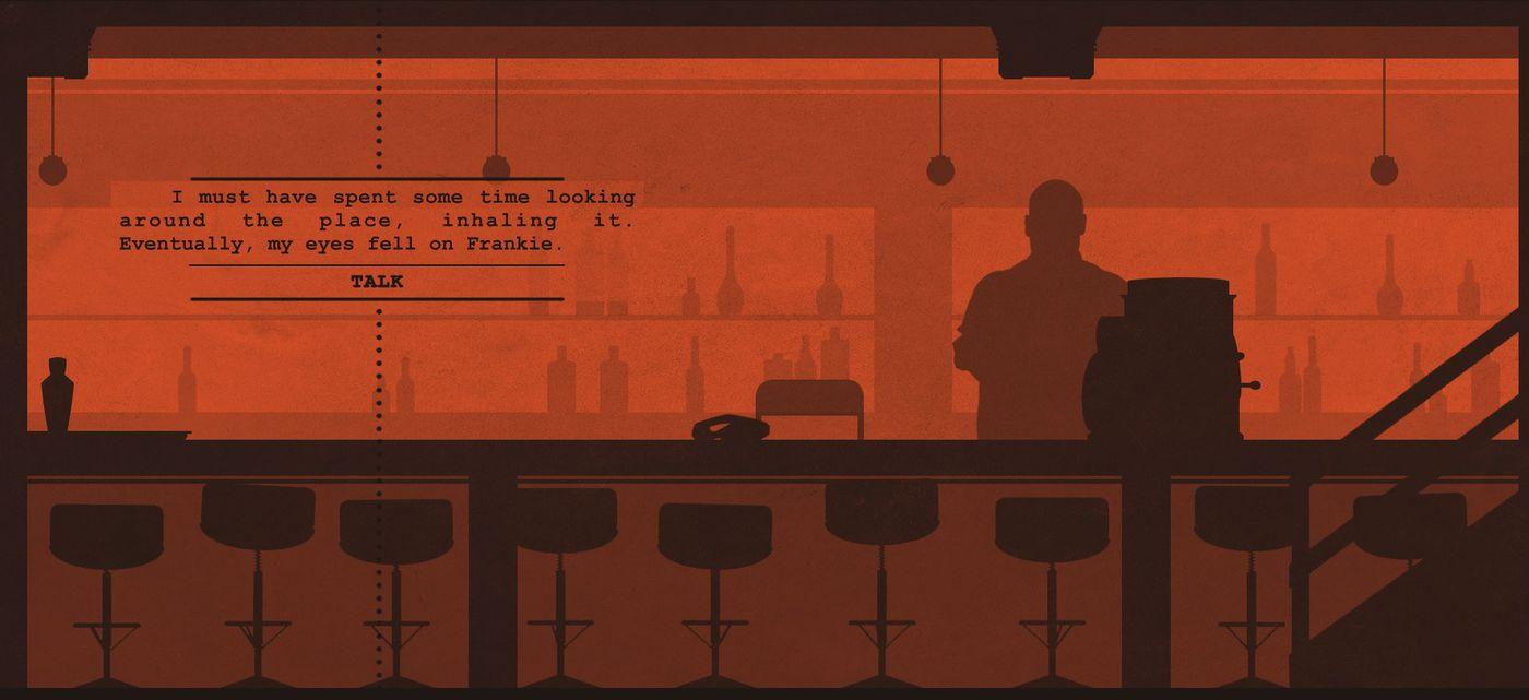 A Case of Distrust - bar scene