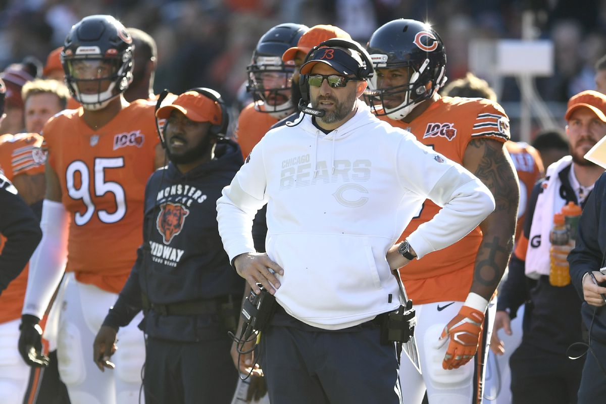 Matt Nagy is overseeing an offense that sits 27th in points and 29th in yardage.