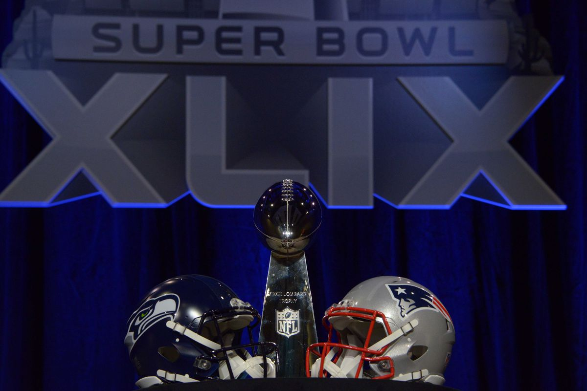 Super Bowl Xlix New England Patriots Vs Seattle Seahawks Game Time Tv Schedule Online Streaming And More Hogs Haven
