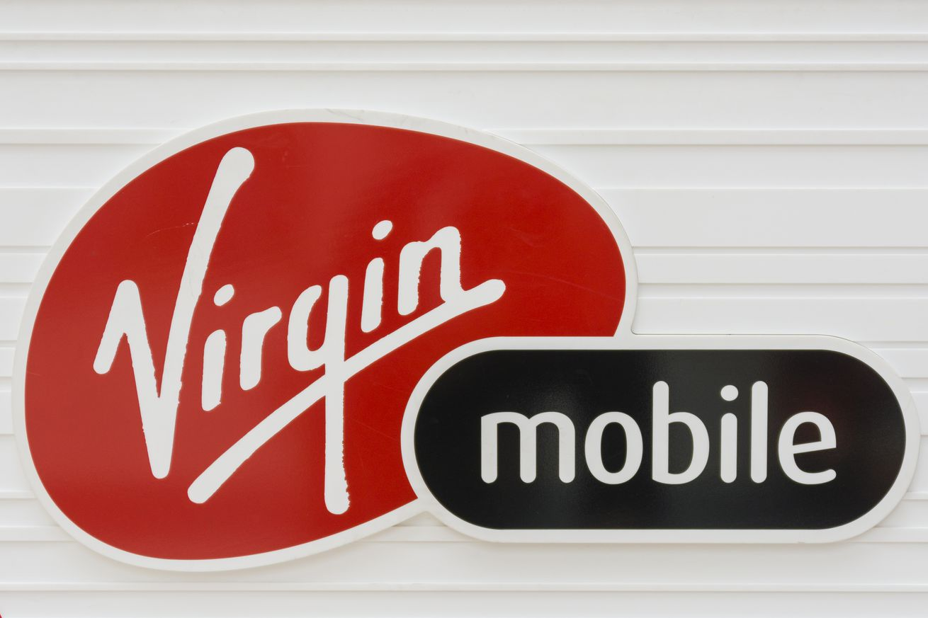 Logo of the brand Virgin Mobile. Virgin Mobile is a wireless...