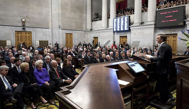 Gov. Bill Haslam delivers his 2016 State of the State address.