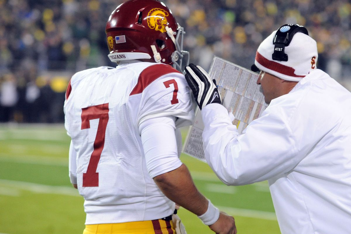 The Trojans seem to be garnering a ton of attention as of late. With the return of Matt Barkley, where will USC land in our top 5 post-spring rankings?