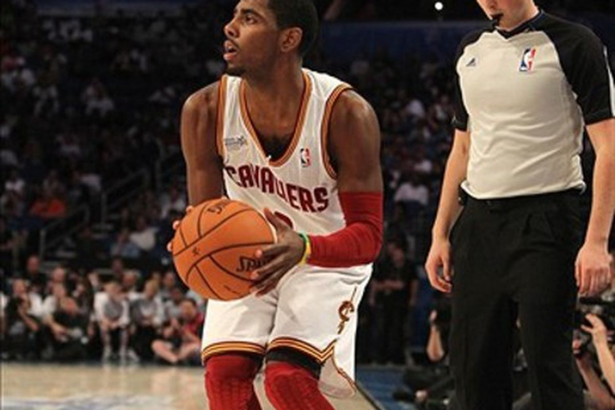 Nba All Star 2012 Kyrie Irving Can T Miss Leads Team