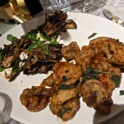 Mushroom plate.