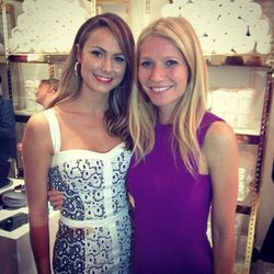 """""""Still sore from my butt-kicking workout @TracyAnderson but couldn't miss her new studio opening w @GwynethPaltrow."""" - <a href=""""http://instagram.com/p/XtwUwNJU3A/""""target=_blank"""">@stacykeibler</a>"""