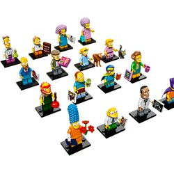 """The Simpsons Legos, <a href=""""http://shop.lego.com/en-US/LEGO-Minifigures-The-Simpsons-Series-2-71009?fromListing=listing"""">$3.99</a>"""