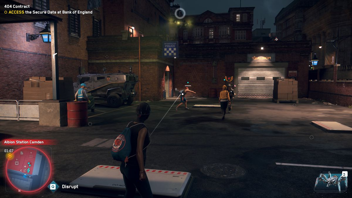 Watch Dogs Legion Power to the People Follower Attack
