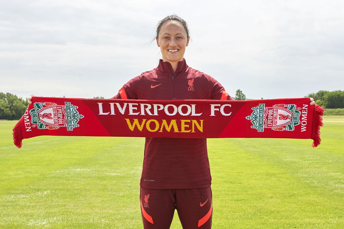 Liverpool Women Unveil new Signing Megan Campbell