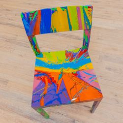 Damien Hirst Spin Chair, $8,000
