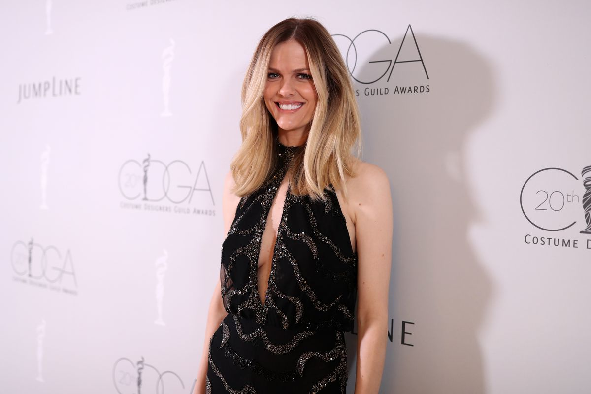 Actor Brooklyn Decker at the Costume Designers Guild Awards