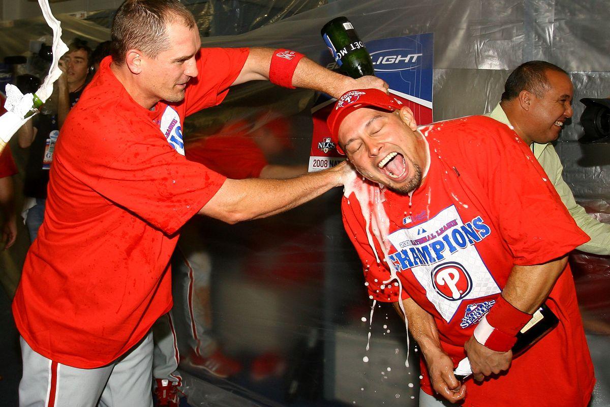 Philadelphia Phillies v Los Angeles Dodgers, Game 5