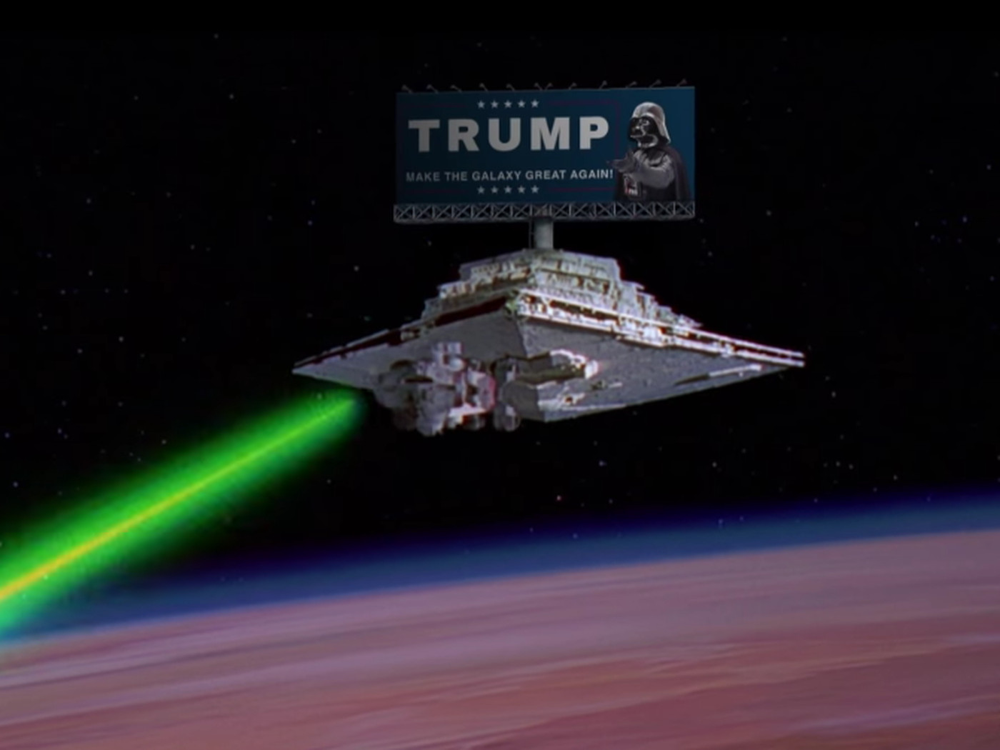 This Donald Trump Darth Vader Mashup Is Surprisingly Good The Verge